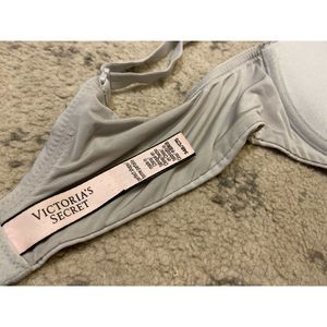 Victoria's Secret Intimates & Sleepwear - VICTORIA'S SECRET Perfect Shape Gray Bra Size 34B